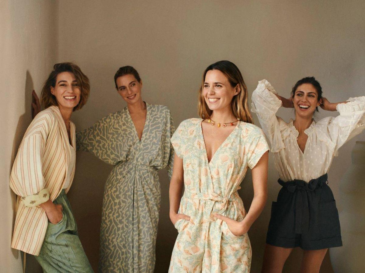 Foto: Las cuatro hermanas, ideales en la campaña. (Hoss Intropia)