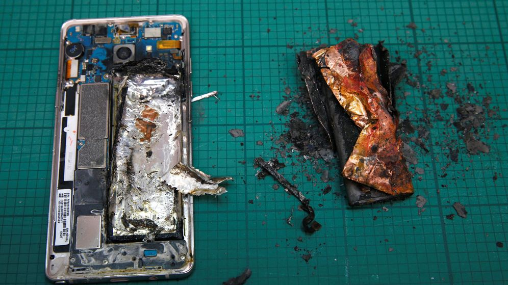 Foto: Samsung Note 7. (Reuters)