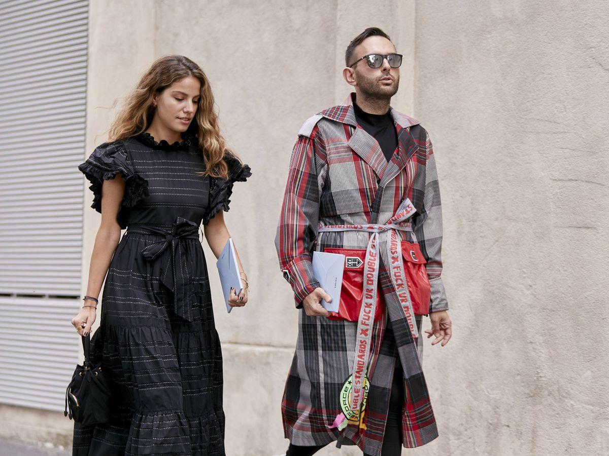 Foto: El calzado que reina en el street style. (Imaxtree)