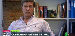 Post de Cayetano Martínez de Irujo, a Cristina Pardo: