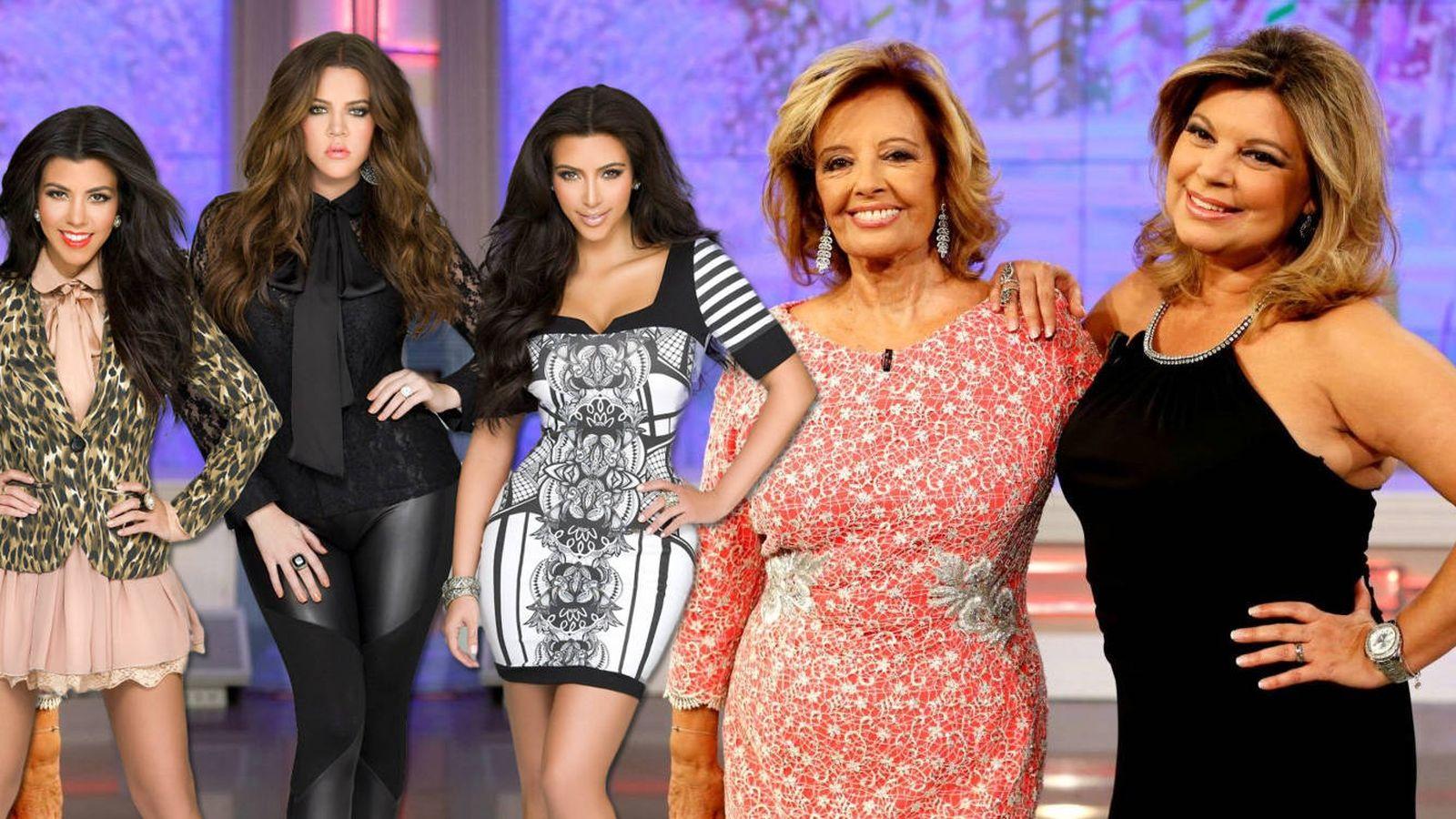 Foto: Las Kardashian conocerán a Las Campos. (E!/Mediaset España)