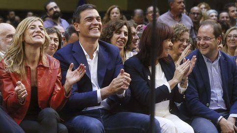 Lozano elude pedir perdón al PSOE y Sánchez elogia la apertura del partido