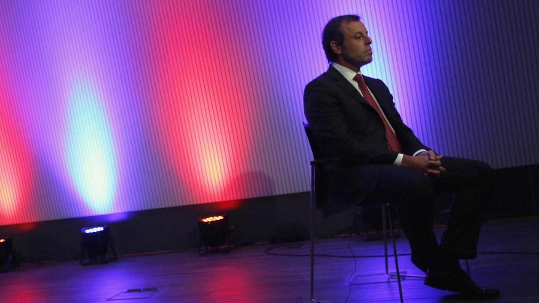 El presidente del FC Barcelona, Sandro Rosell (Reuters)