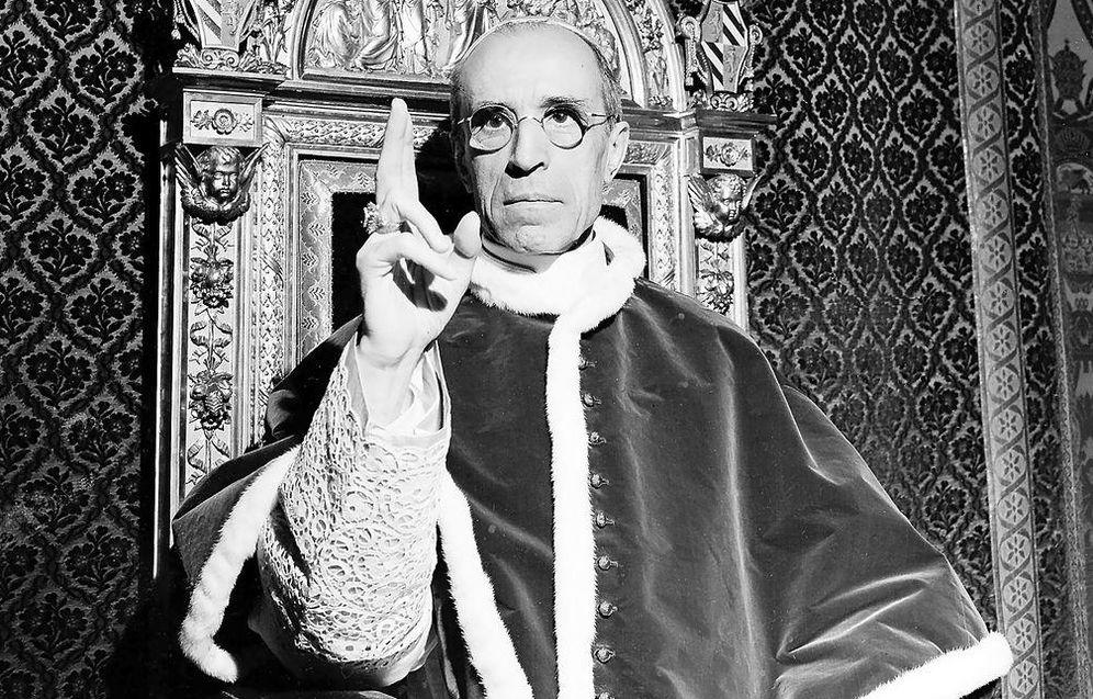 Foto: Pio XII fotografiado en 1945.