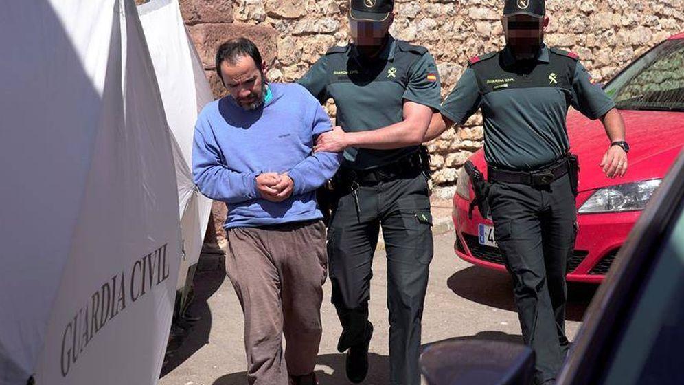 Foto:  El hijo de la anciana muerta en Pozondón detenido. (EFE)