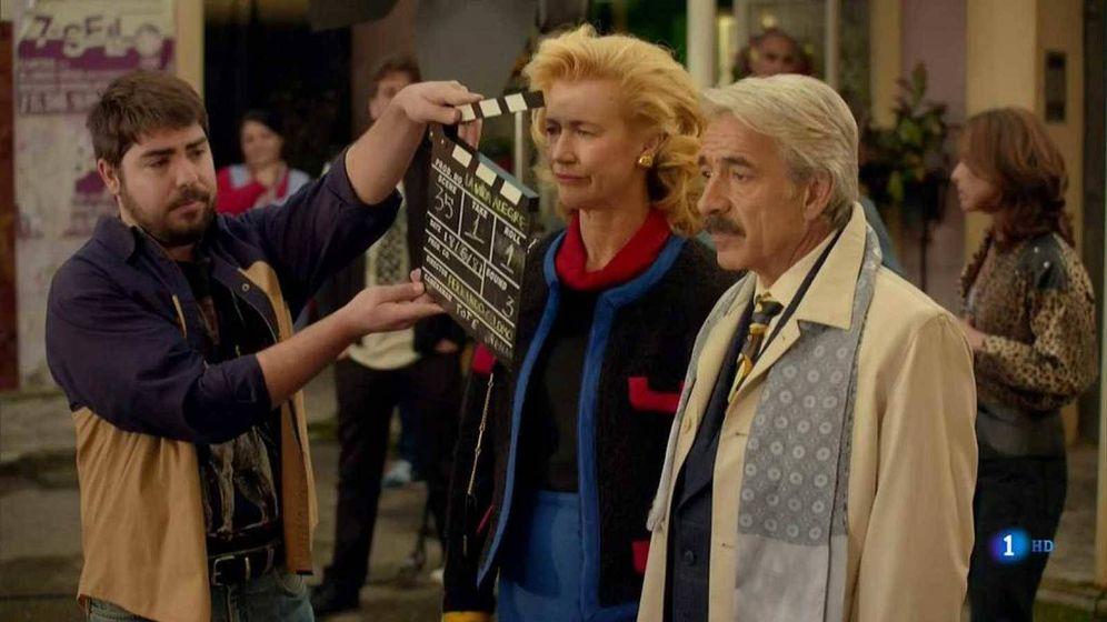 Foto: Los personajes de Merche y Antonio Alcantara en 'Cuéntame' (RTVE)