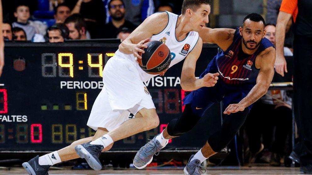 ¿El Barça de Pesic o el de Bartzokas? Festín del Real Madrid en el Palau