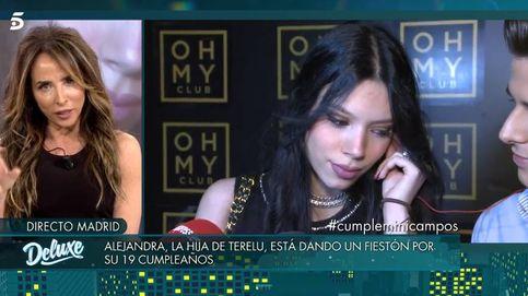 La hija de Terelu Campos, Alejandra Rubio, eclipsa el 'Deluxe' de Tejado