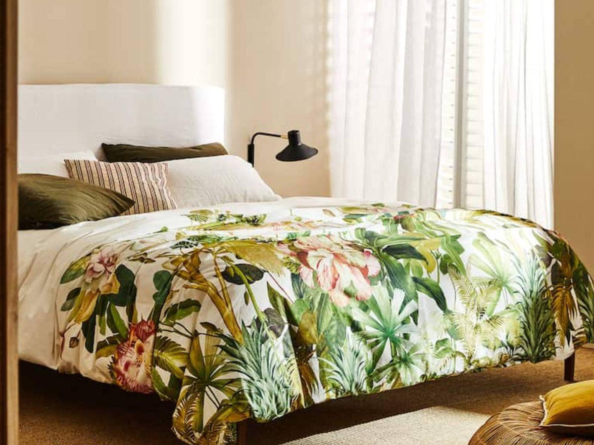 Foto: Diseños tropicales en Zara Home. (Cortesía)