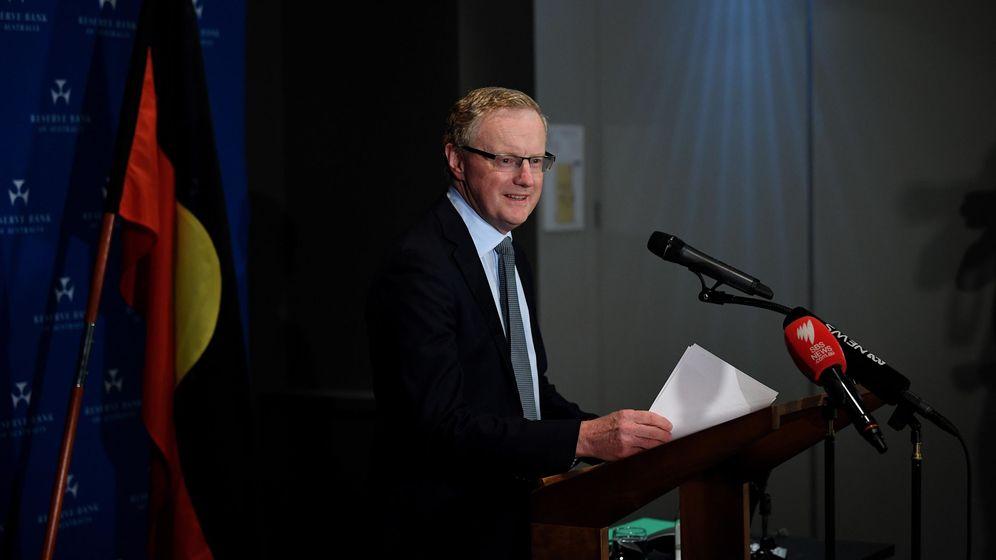 Foto: Philip Lowe, gobernador de la resrva federal de Australia (Reuters)