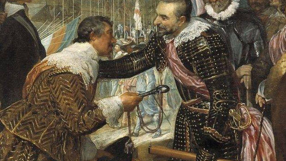 Foto: Detalle de 'La rendición de Breda', de Velázquez.