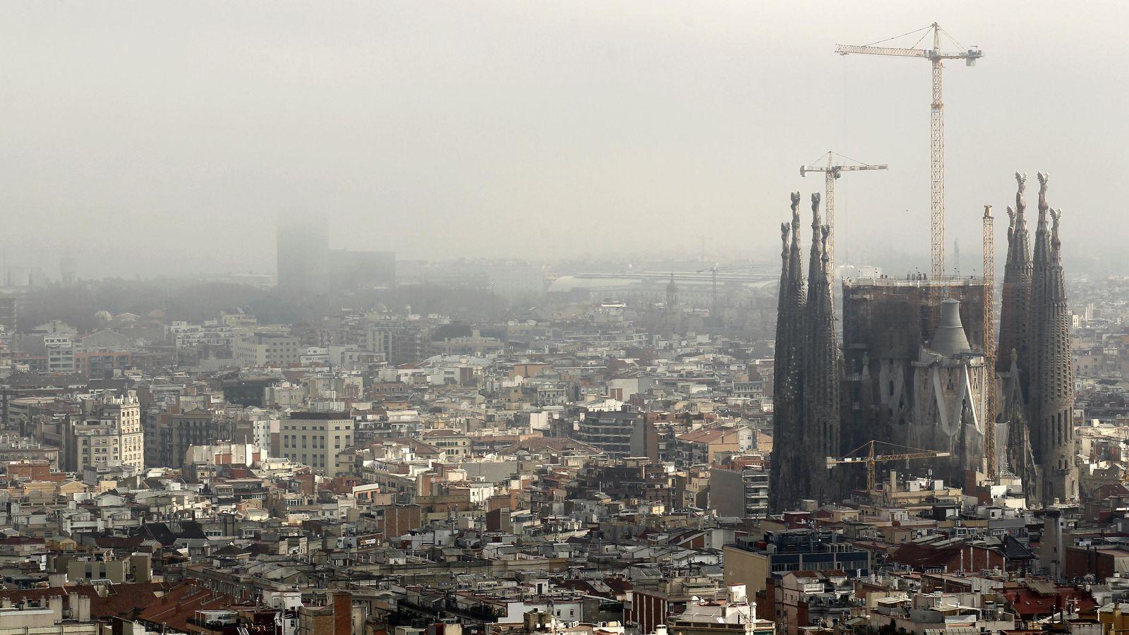 Foto: Vista de la ciudad de Barcelona. (Reuters)