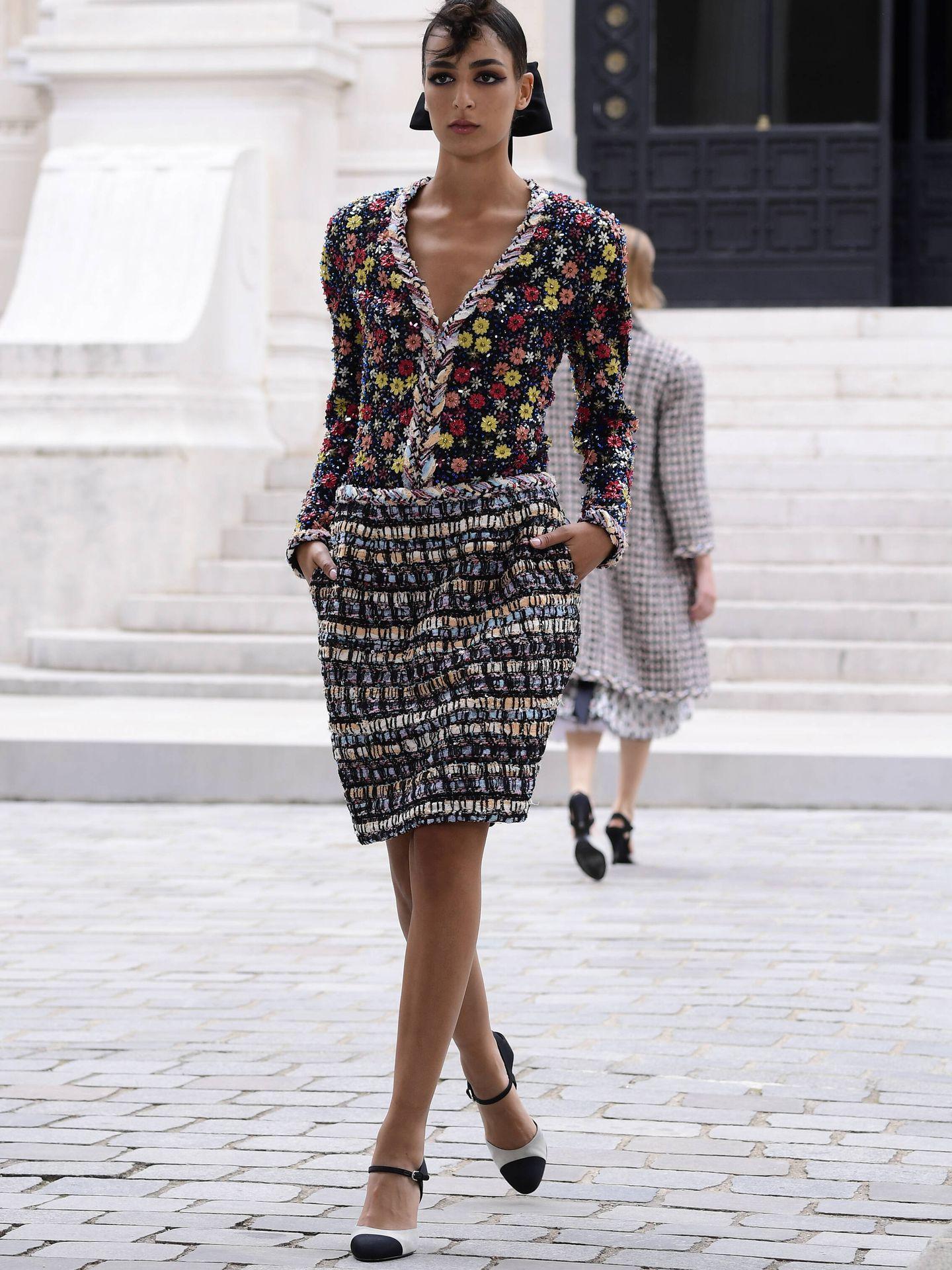 Desfile de Chanel en la Alta Costura de París. (Getty)