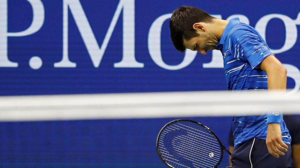 Foto: Novak Djokovic, durante el partido contra Stan Wawrinka en el US Open (Geoff Burke/USA TODAY)