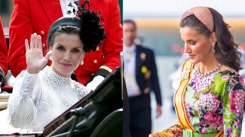La reina Letizia, en Londres y Japón. (Getty / CP)