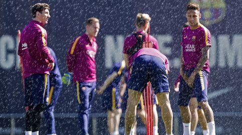 El Barcelona saca el paraguas aunque el chaparrón sobre Alves parece inevitable