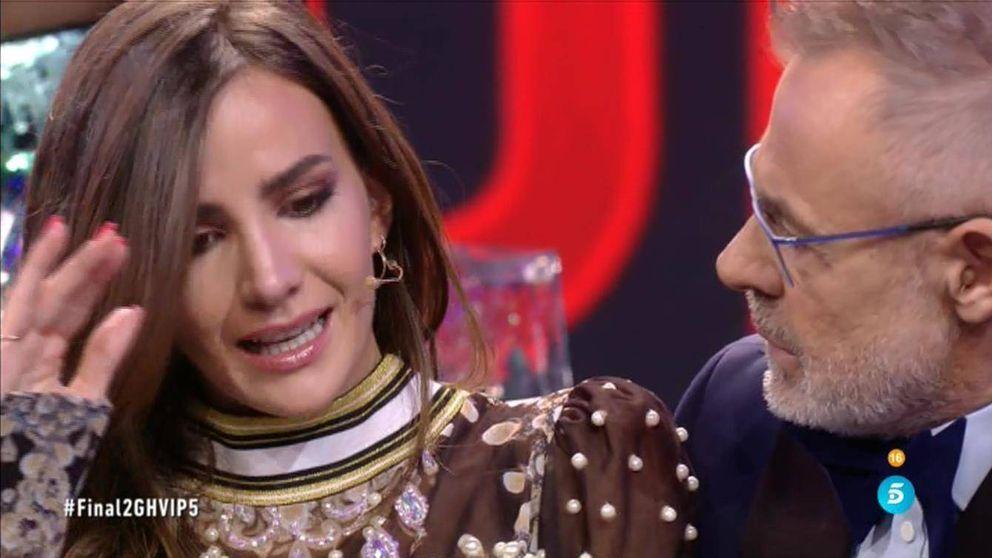 Aylén, abatida en la final de 'GH VIP' por las críticas sobre su relación con Marco