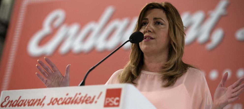 Foto: Susana Díaz, presidenta de la Junta de Andalucía, es la política más valorada (EFE)