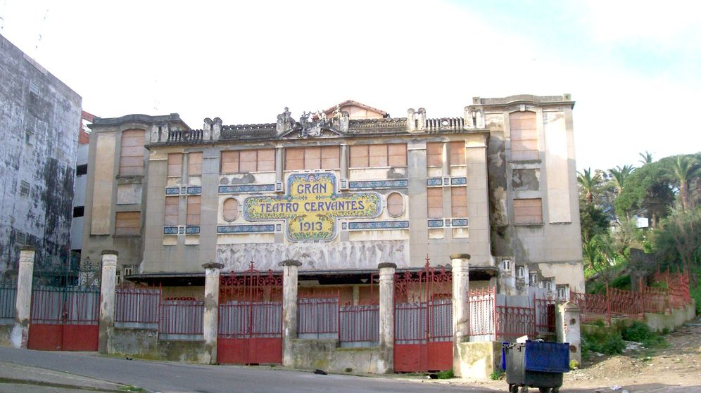 Foto: Gran Teatro Cervantes de Tánger. (Wikimedia Commons)