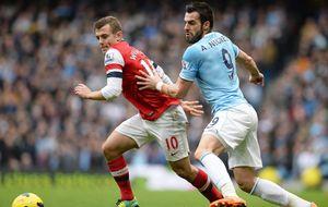 Negredo y Silva derriban al Arsenal y Torres tira del Chelsea de Mou