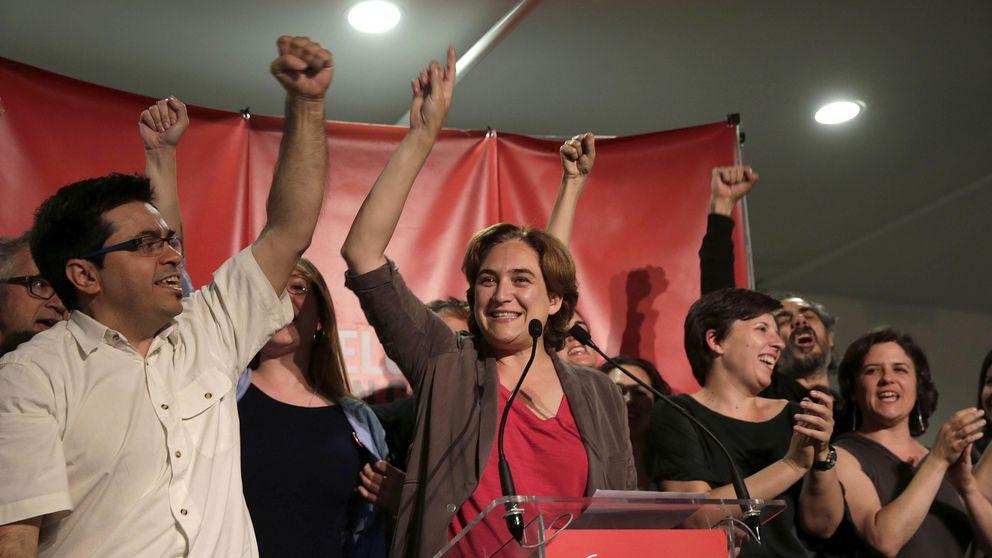 Ada Colau (BComú) gana en Barcelona con el 98% de los votos escrutados