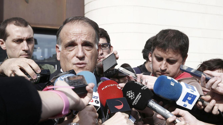 Javier Tebas recula tras meter la pata con el horario del Real Madrid-Rayo