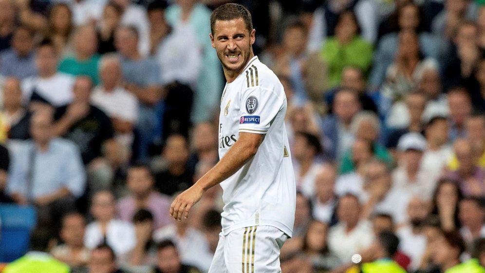 Foto: Eden Hazard, en un partido de Champions durante esta temporada. (EFE)