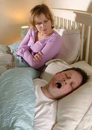Foto: Los ronquidos pueden provocar bronquitis crónica
