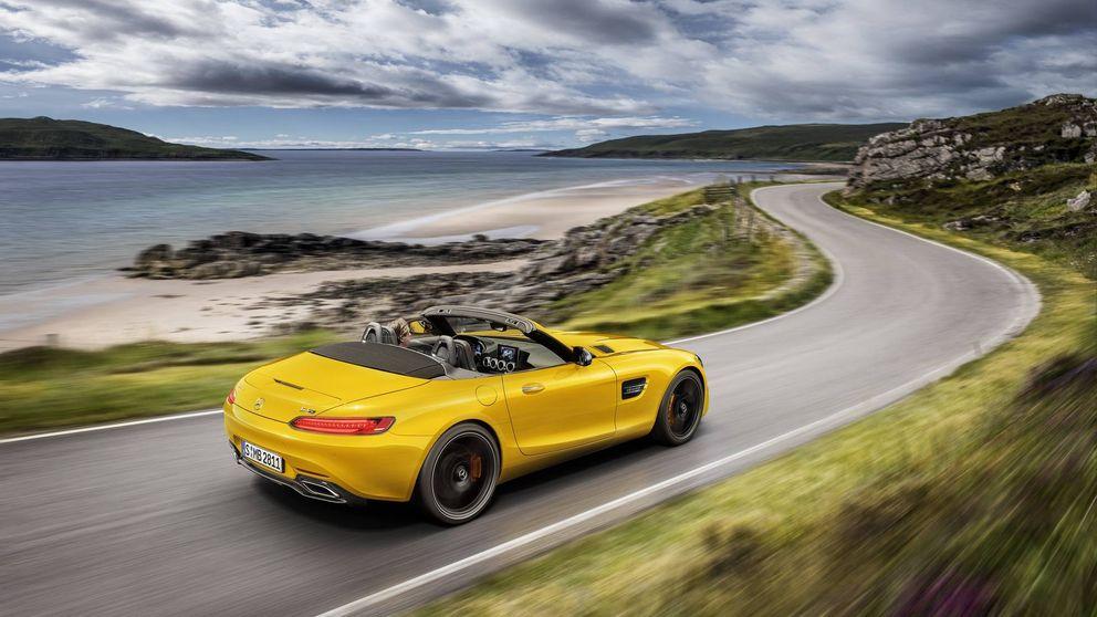 Mercedes y su nuevo deportivo brutal a cielo abierto: AMG GT S Roadster