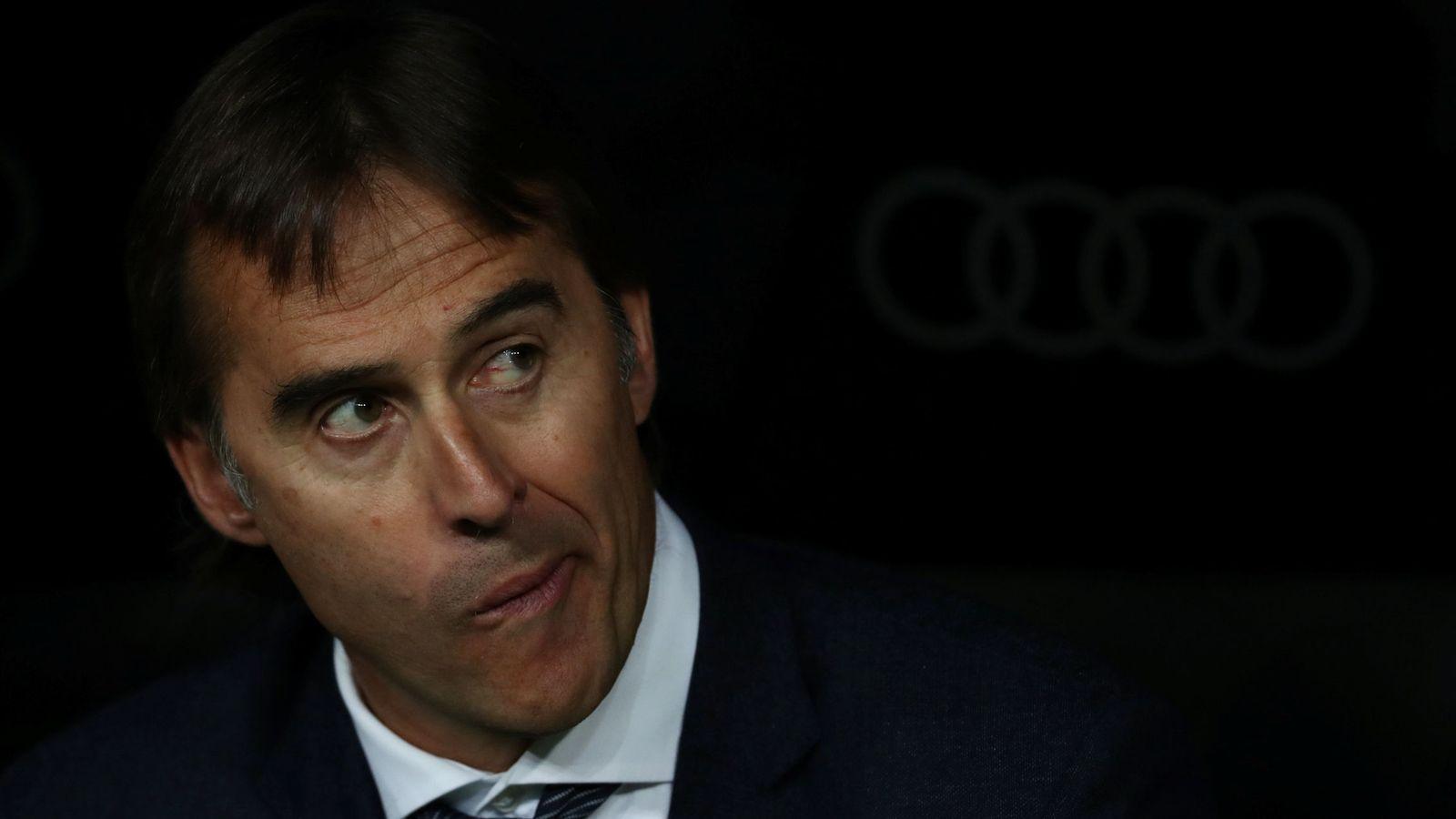 Foto: Julen Lopetegui, entrenador del Real Madrid. (Reuters)