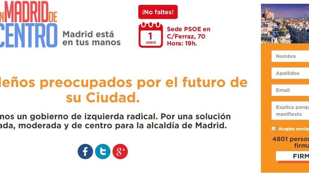 Foto: Convocan una concentración por el centro en Ferraz  ya que el PSOE está confundido