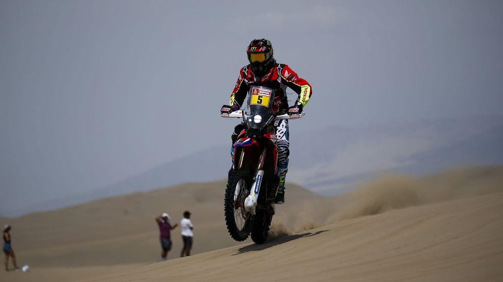 Foto: Joan Barreda vuelve al Dakar como uno de los grandes favoritos a la victoria. (EFE)