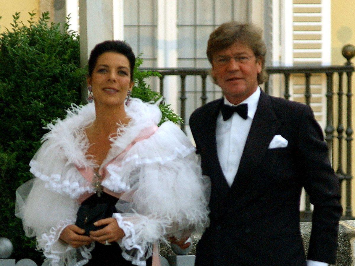 Foto: Carolina de Mónaco y Ernesto de Hannover, en 2004. (Getty)