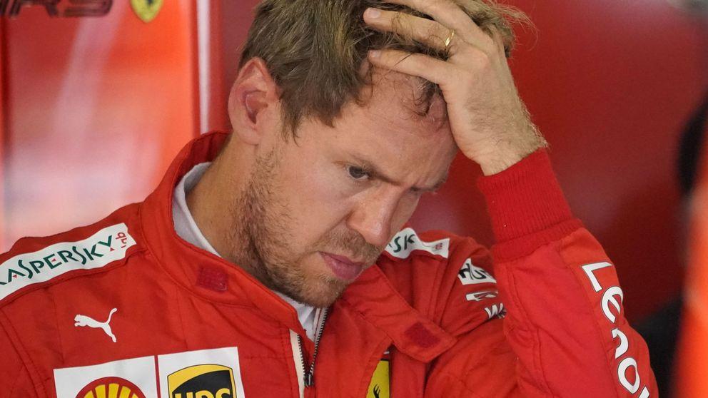 La amargura de Sebastian Vettel: He fallado. No conseguí mi misión de ganar con Ferrari
