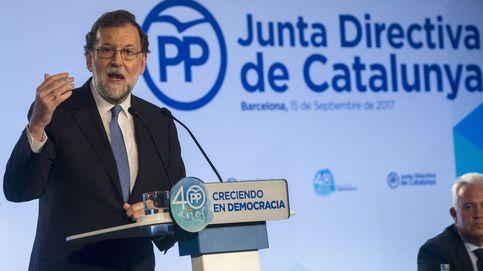 Rajoy, en Barcelona: La ley no se puede liquidar así. No habrá referéndum