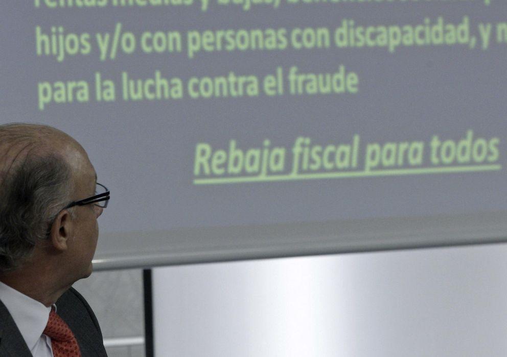 Foto: El ministro de Hacienda y Administraciones Públicas, Cristóbal Montoro. Foto: Efe