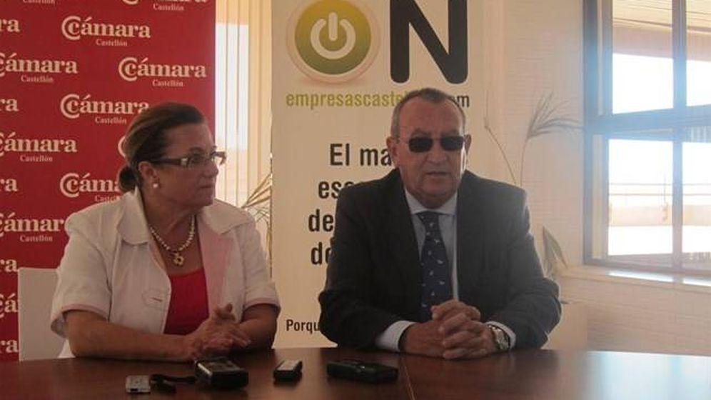 Foto: Dolores Guillamón y Carlos Fabra.