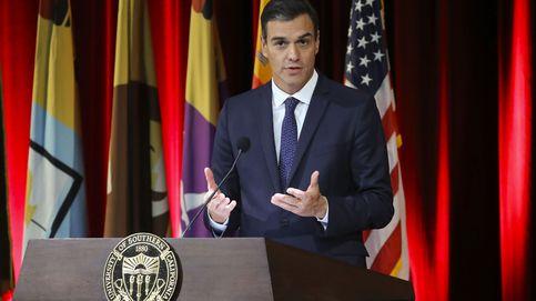 Sánchez se va a California a poner en venta España