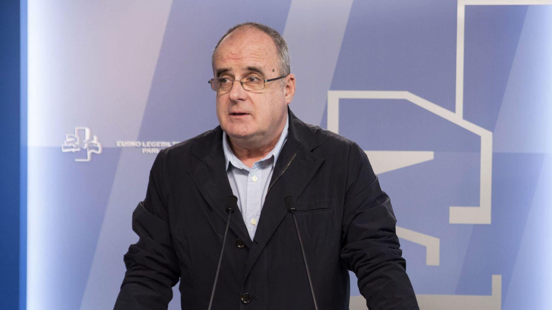 El portavoz del PNV, Joseba Eguibar. (EFE)