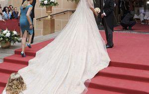 La 'reina del baldosín' se da el 'sí, quiero' ante 600 ilustres invitados
