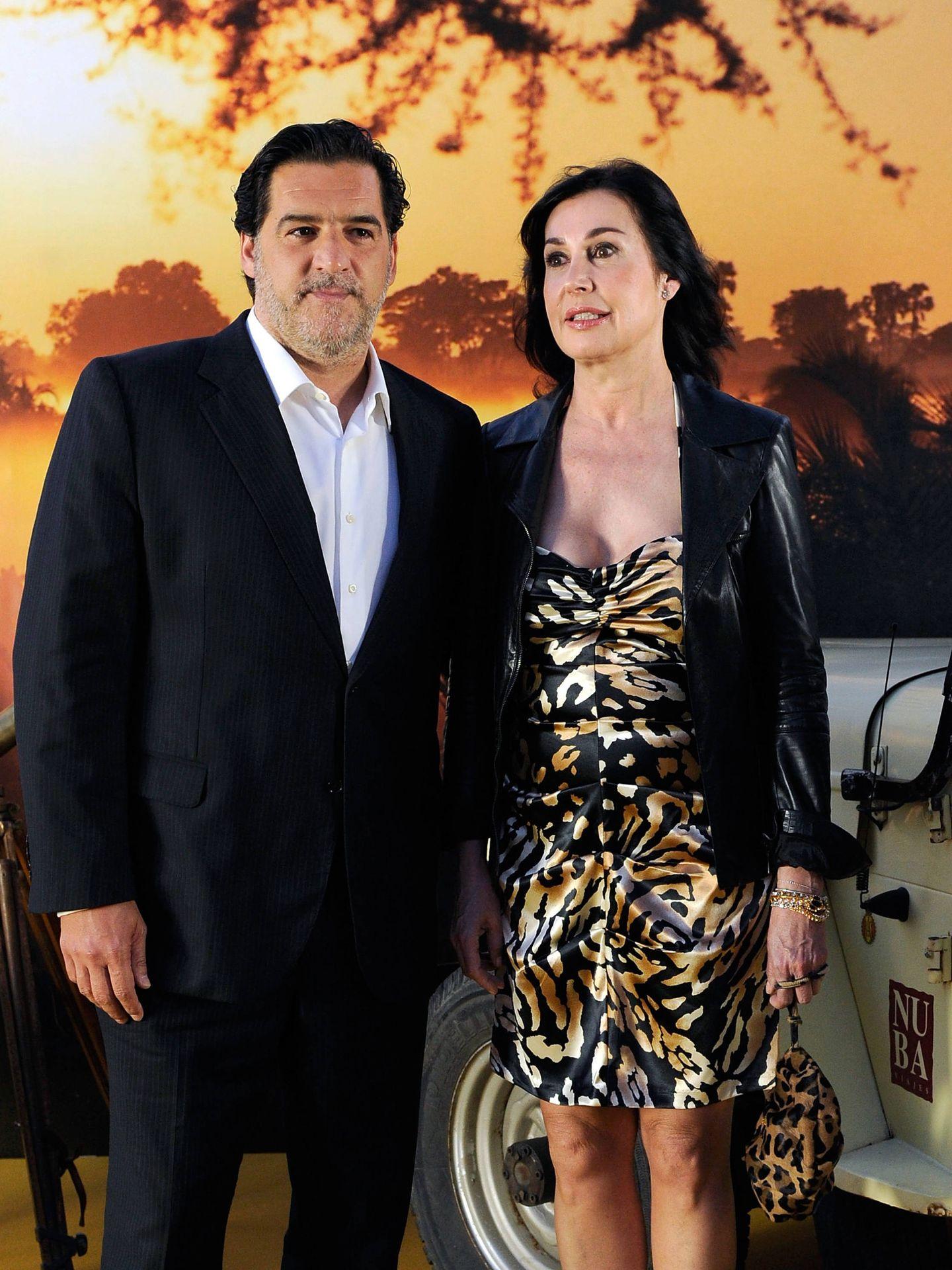 José Campos y Carmen Martínez-Bordiú, en Madrid en 2011. (EFE)