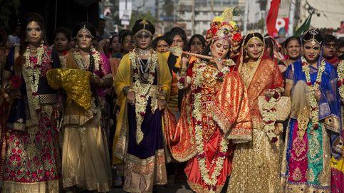 Festival anual de Rath Yatra, en Bangladesh