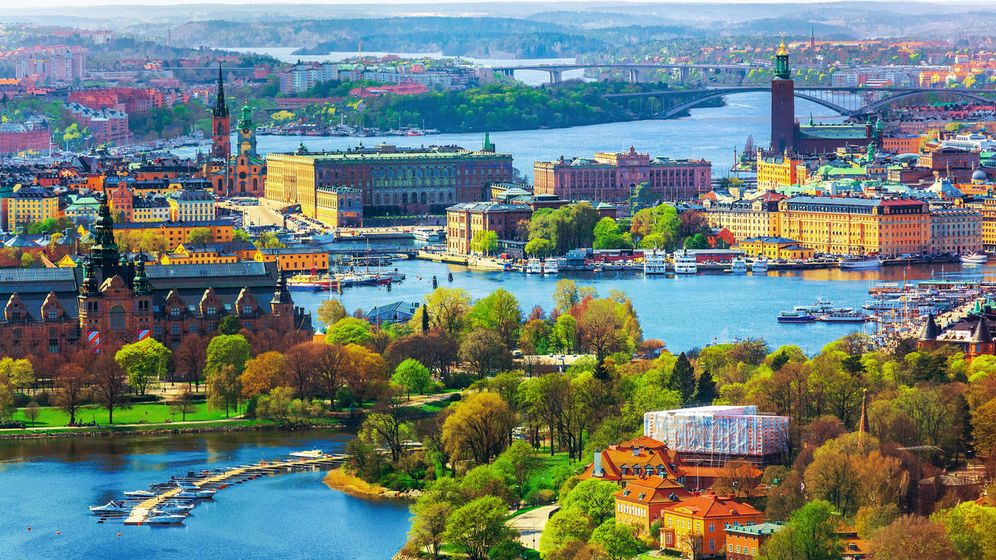 Foto: Panorámica de Estocolmo, Suecia. (iStock)
