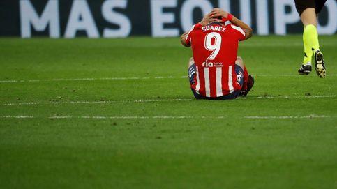 La soledad del nueve: Simeone entona el mea culpa por la pólvora mojada de Luis Suárez