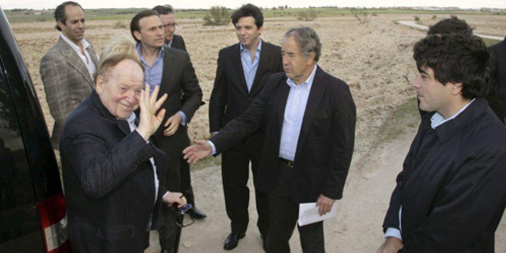 Foto: Dos empresarios locales y varias inmobiliarias, tras el suelo del pelotazo de 'Eurovegas'