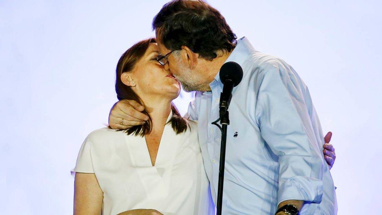 Mariano Rajoy rinde honores a Viri, su mujer, por su apoyo y su generosidad