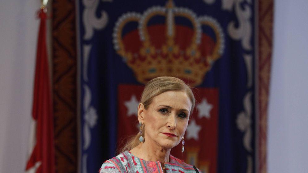 Foto:  Cristina Cifuentes, presidenta de la Comuniad de Madrid. (Gtres)