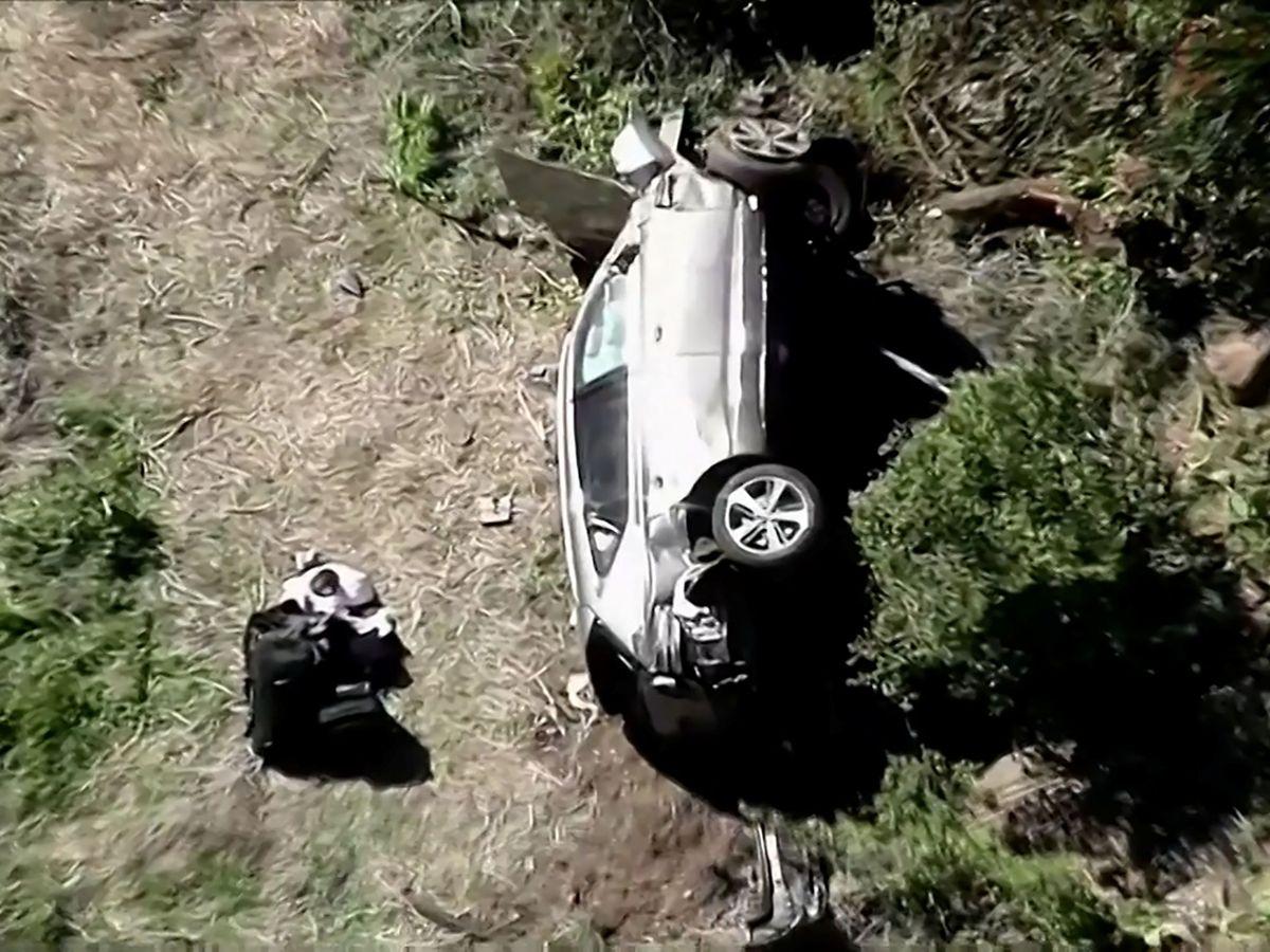 Testigos vieron a Tiger Woods conducir a alta velocidad antes del accidente