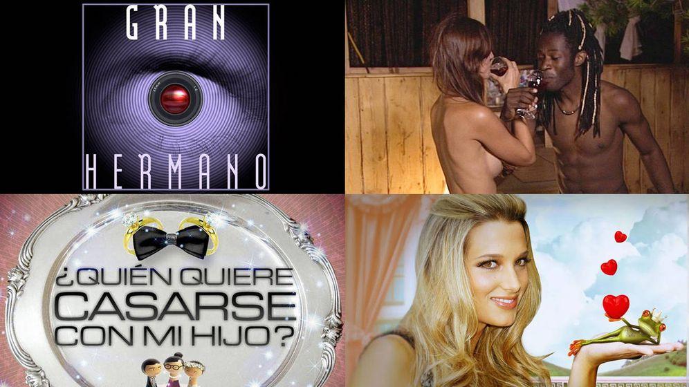 Foto: Varios de los reality shows más conocidos de Telecinco y Cuatro. (Mediaset España)