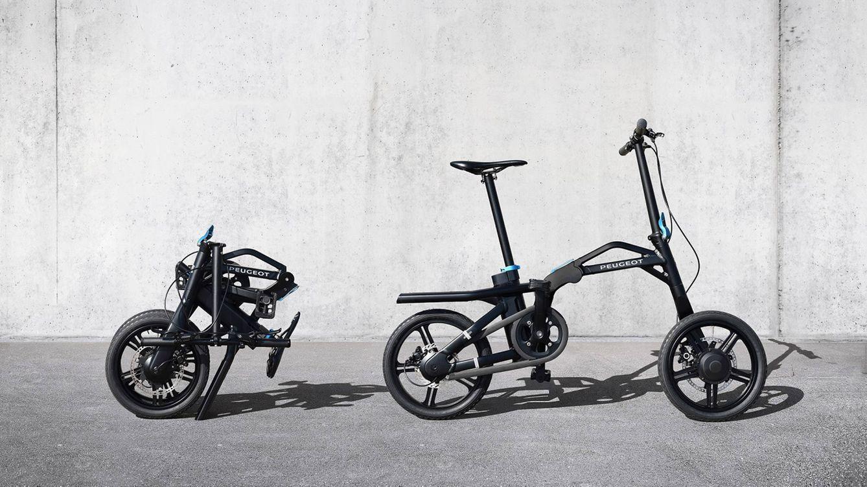 Foto: La bicicleta pesa en su conjunto 17 kg y su motor eléctrico se sitúa en la rueda trasera.